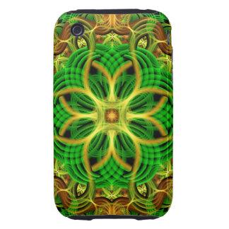 Forest Heart Mandala Tough iPhone 3 Case