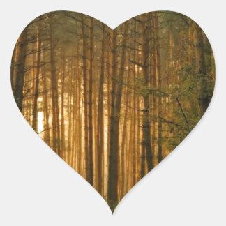 Forest Heart Sticker