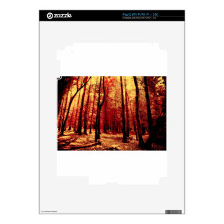 Forest Heat iPad 2 Decal