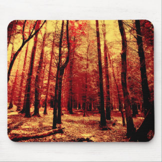 Forest Heat Mouse Pads