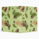 Forest Hedgehogs Binder