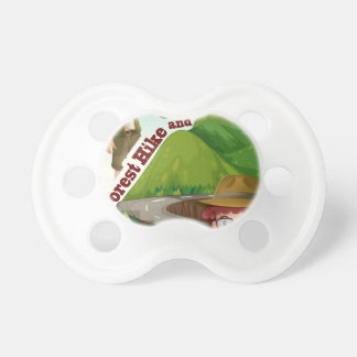 Forest hike and camp ground pacifier