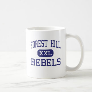 Forest Hill - Rebels - High - Jackson Mississippi Classic White Coffee Mug