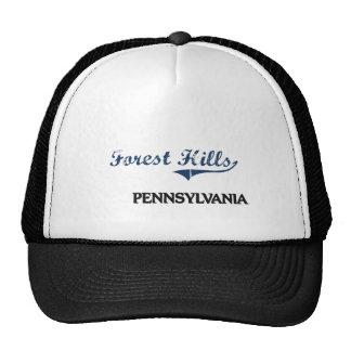 Forest Hills Pennsylvania City Classic Trucker Hats