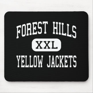Forest Hills - Yellow Jackets - High - Marshville Mouse Pad