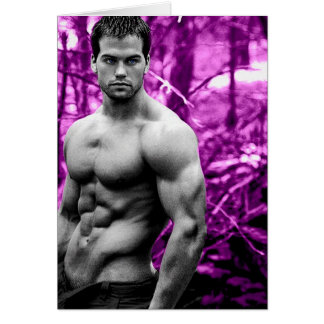 Forest Hunk Cards