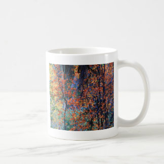 Forest in Autumn Classic White Coffee Mug