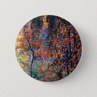 Forest in Autumn Pinback Button