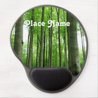 Forest in Belgium Gel Mouse Mat