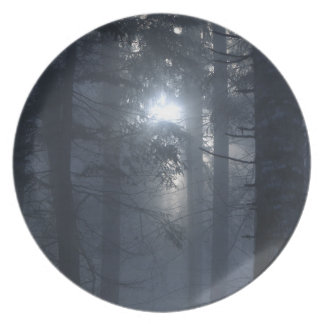 Forest in Fog Nature-lovers Plate