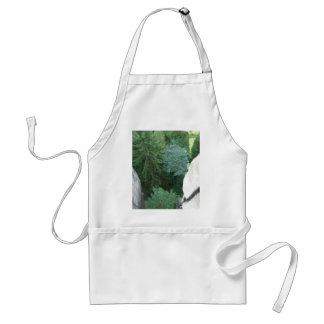 Forest in germany adult apron