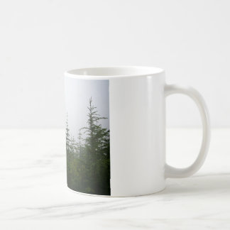 Forest in the Mist Classic White Coffee Mug