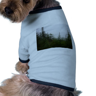 Forest in the Mist Dog Tshirt