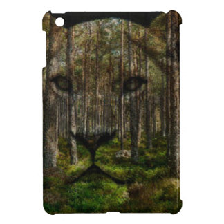 Forest inside a tiger iPad mini cases