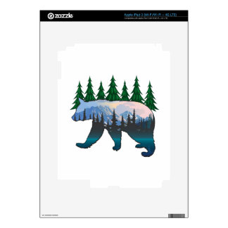 FOREST KEEPER iPad 3 DECALS