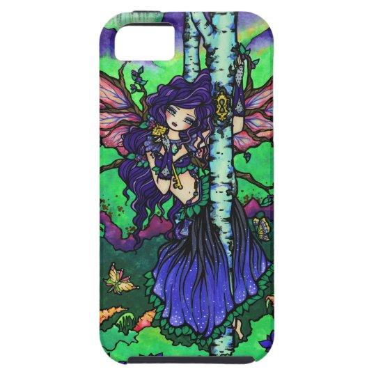 Forest Key Fairy Tree Fantasy Fairy Art iPhone iPhone SE/5/5s Case