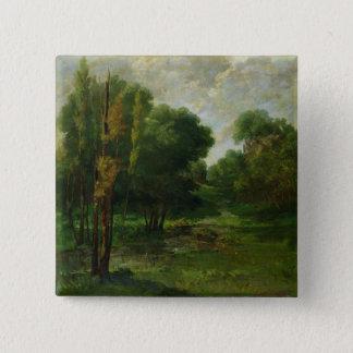 Forest Landscape, 1864 Button
