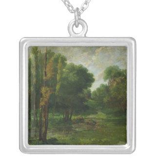 Forest Landscape, 1864 Necklaces