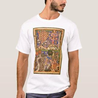 Forest Landscape By Meister Der Carmina Burana (Be T-Shirt