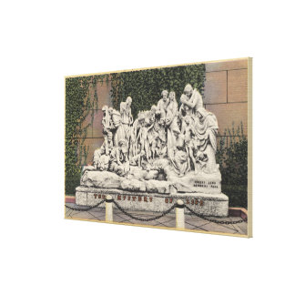 Forest Lawn Memorial Park, Mystery of Life Stretched Canvas Prints