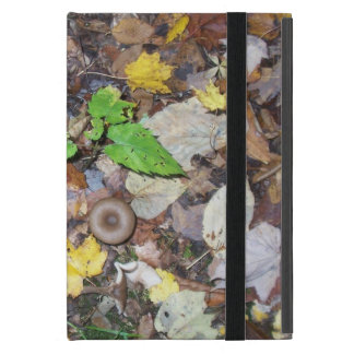 Forest Leaves iPad Mini Cover