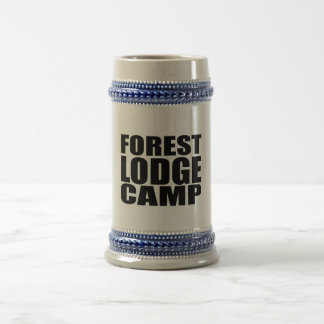 FOREST LODGE CAMP 18 OZ BEER STEIN