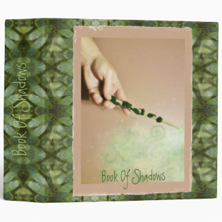 Forest Magick Lg. BOS Book Of Shadows Grimoire Binder