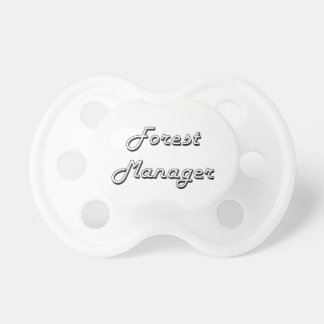 Forest Manager Classic Job Design BooginHead Pacifier
