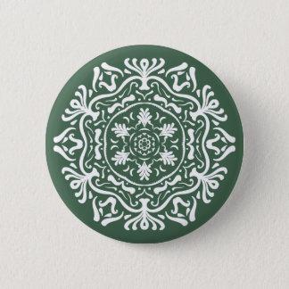 Forest Mandala Pinback Button
