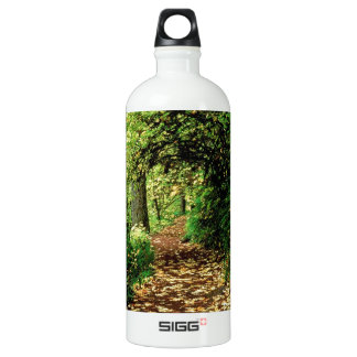 Forest Maple Lined Silver Trail Silver Falls Aluminum Water Bottle