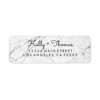 Forest Marble Address Labels
