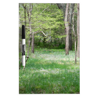 Forest Meadow Dry Erase Board
