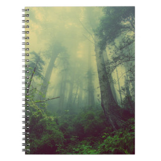 Forest Mist Note Pad Notebook