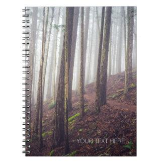 Forest Mist | Spiral Notebook