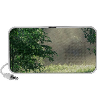 Forest Morning Meadow Park Notebook Speakers