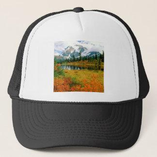 Forest Mount Shuksan Landscape Trucker Hat