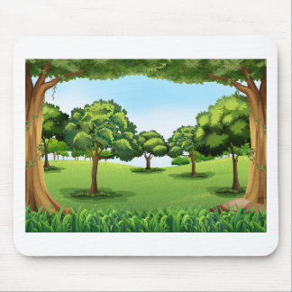 Forest Mouse Pad