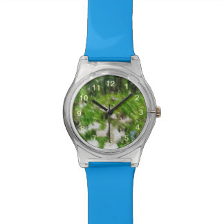 Forest mushroom edited photo wristwatches