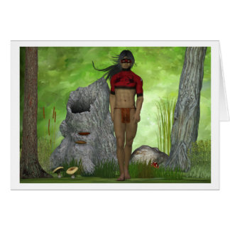 Forest Native Greeting Cards