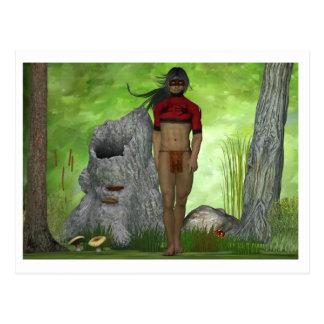 Forest Native Postcards
