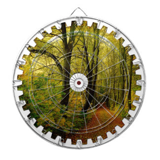 FOREST NATURE GEAR DARTBOARD WITH DARTS