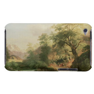 Forest near Vienna, 1852 (oil on canvas) Barely There iPod Cover