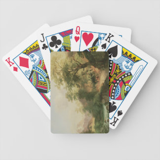 Forest near Vienna, 1852 (oil on canvas) Bicycle Playing Cards