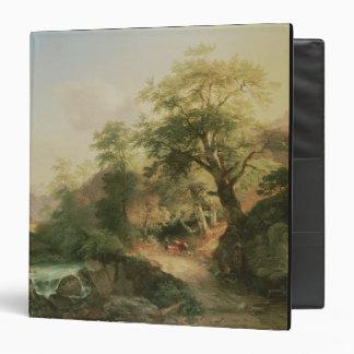 Forest near Vienna, 1852 (oil on canvas) Binder