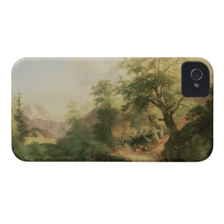 Forest near Vienna, 1852 (oil on canvas) iPhone 4 Cover