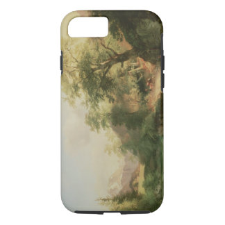 Forest near Vienna, 1852 (oil on canvas) iPhone 7 Case