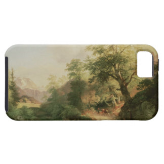 Forest near Vienna, 1852 (oil on canvas) iPhone SE/5/5s Case