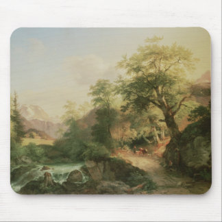 Forest near Vienna, 1852 (oil on canvas) Mouse Pad