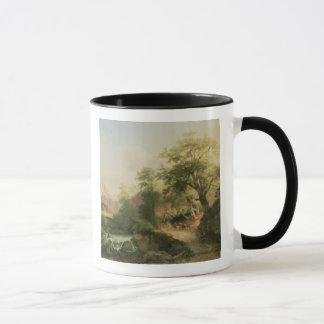 Forest near Vienna, 1852 (oil on canvas) Mug