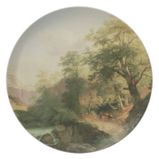 Forest near Vienna, 1852 (oil on canvas) Plate